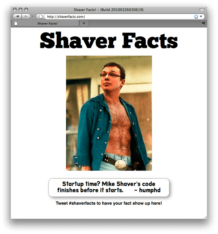 shaver facts